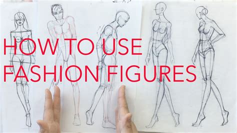 zoe hong fashion illustration how to use croquis figures