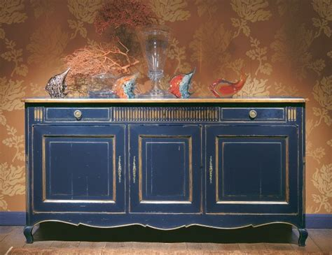 Kitchen Cabinet Stain Colors Charme Amp Colors Rostov Blue Credenza Servers