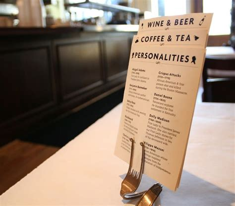 Table Menu Restaurant 17 Best Ideas About Menu Holders On Cafe Style