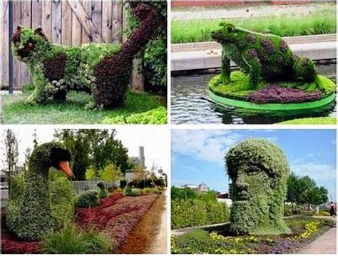 imagenes de jardines con animales jardines con figuras de animales y de paperblog