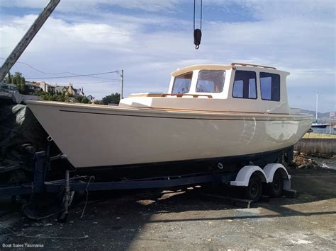 boat launch for sale diesel launch charlotte power boats boat sales tasmania