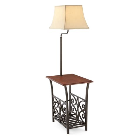 end table with light attached top 10 side table with l attached 2018 warisan lighting