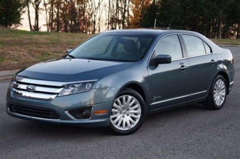 2012 Ford Fusion Mpg by Find Used 2012 Ford Fusion Hybrid 1 Owner Lease Great