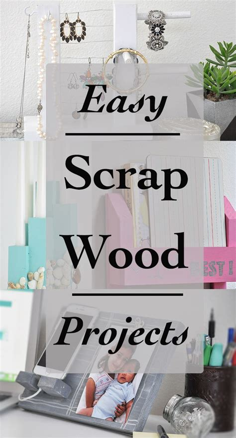 simple scrap wood projects  beginners carpentry