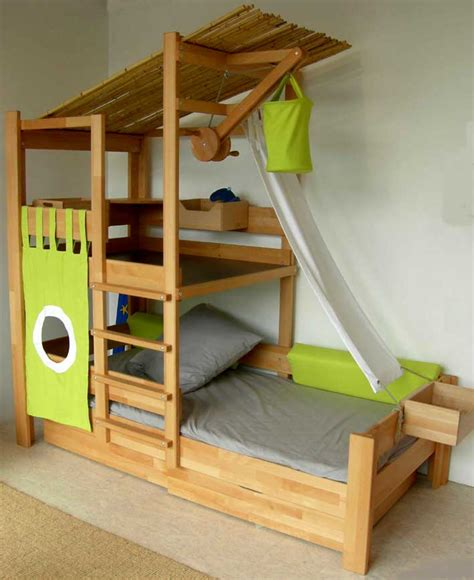Beds For Toddlers by Toddler Bunk Beds That Turn The Bedroom Into A Playground