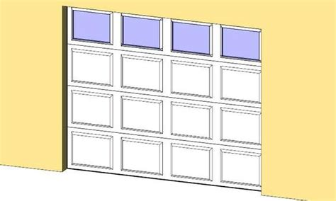 Garage Door Revit Revitcity Object Garage Door With Windows