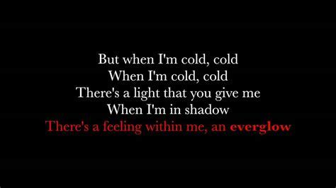 coldplay everglow single version lyrics everglow coldplay lyrics youtube