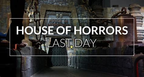 Complete Guide To Universal S House Of Horrors Inside Universal