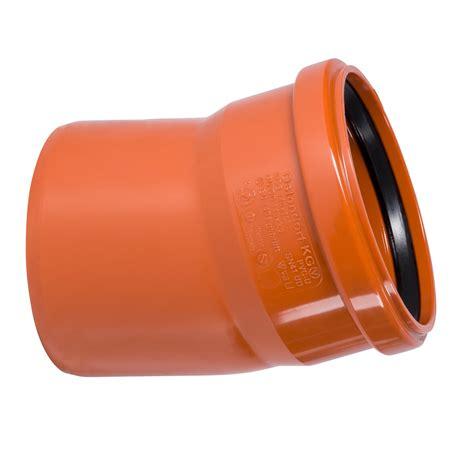 Abwasserrohr Dn 150 by Kg Bogen Dn160 15 Grad Rohr 150 Mm Abwasserrohr Kanalrohr