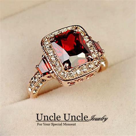 Cincin Batu Hitam Persegi buy grosir ruby persegi panjang from china ruby