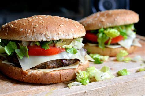 Handmade Hamburger - beef burgers wickedfood