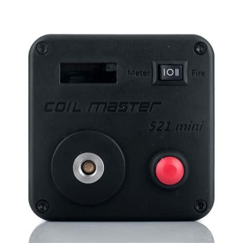 Vape 521 Tab Mini Acc Authentic Murah coil master 521 tab mini elite ohm meter