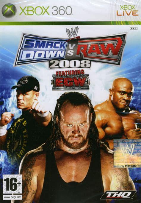 wwe smackdown  raw   xbox  box cover art