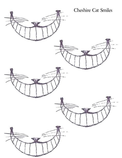 cheshire cat smile tattoo cheshire cat smiles printables alice in wonderland