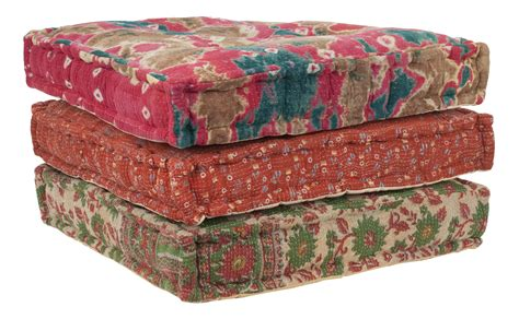 Floor Cushion by Kantha Floor Cushion Jayson Home