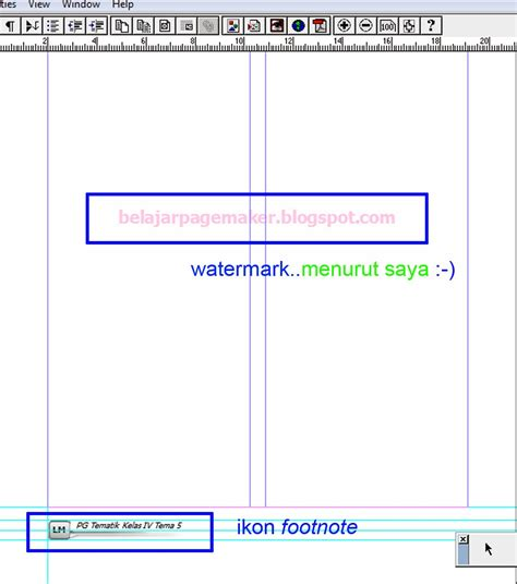 cara membuat watermark di adobe reader belajar pagemaker membuat watermark di pagemaker