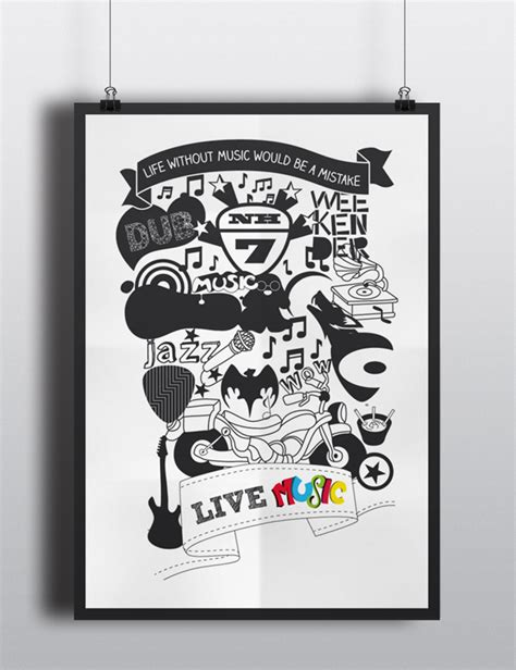 doodle poster doodle poster on behance