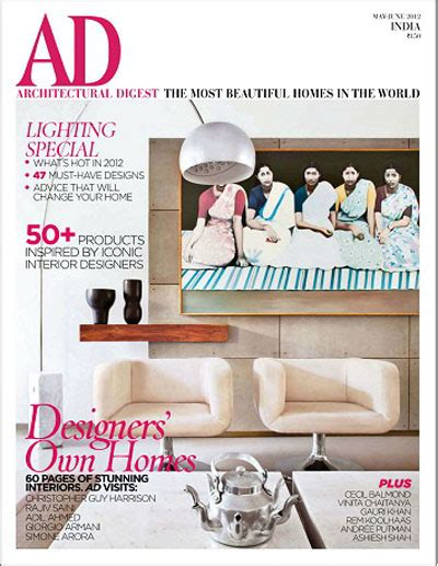 design digest magazine architectural digest magazine india may june 2012