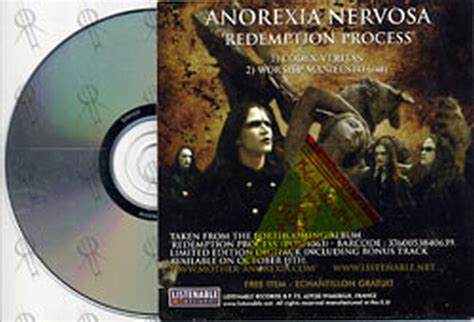 anorexia nervosa redemption process album anorexia nervosa redemption process album cd