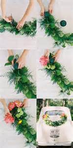 garland ideas diy wedding getaway garland once wed