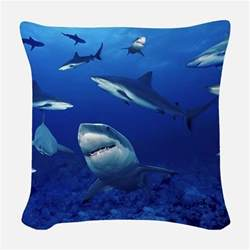 shark pillows shark throw pillows decorative pillows