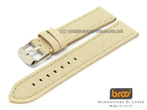 Bros H 22 bros canvas 22mm beige textile