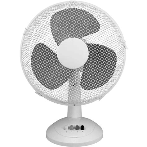 desk top fan 12 quot desk fan 40w toolstation