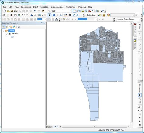 arcgis tutorial shapefile arcgis 9 3 1 how to create a plain boundary from a large