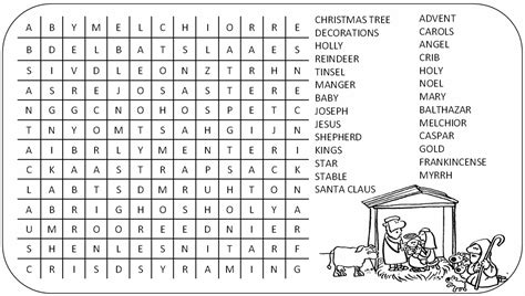 printable nativity word search christian christmas word search new calendar template site