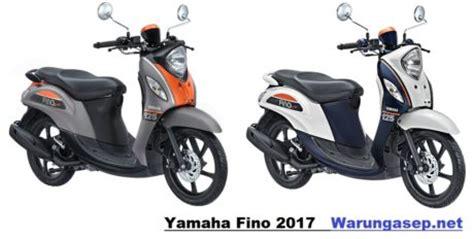 yamaha mio fino 2017 5 warna yamaha fino 125 2017 versi premium dan sporty