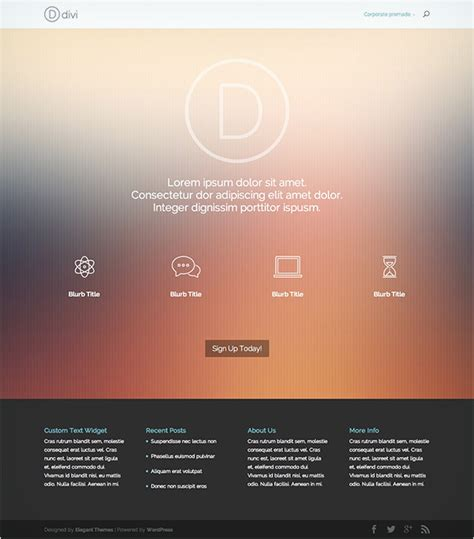 divi theme blog gallery on the seventh day of divi we created eight stunning
