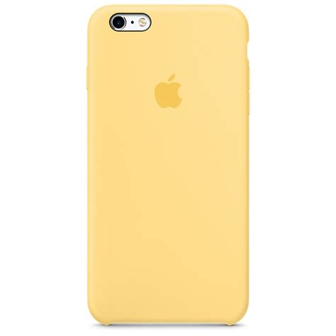 Iphone 6 Plus 6 Plus S Silicone Yellow iphone 6s plus silicone yellow apple sg