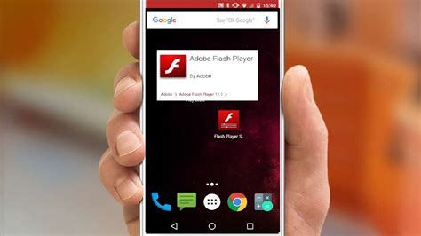 adobe flash android adobe flash player available on android lollipop devices neurogadget