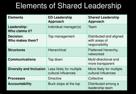 exle of leadership what does collective leadership look like in an