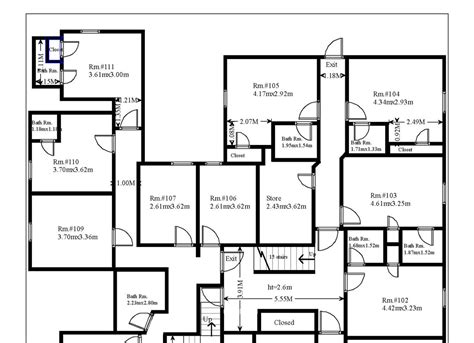 professional floor plan professional floor plans cornwall home energy surveys
