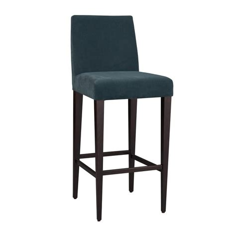 Teal Blue Bar Stools by Hamilton Conte Uma Velvet Bar Stool Teal Houseology