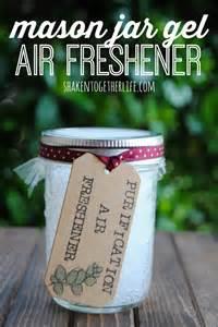 Car Air Freshener Gift Diy Jar Gel Air Fresheners