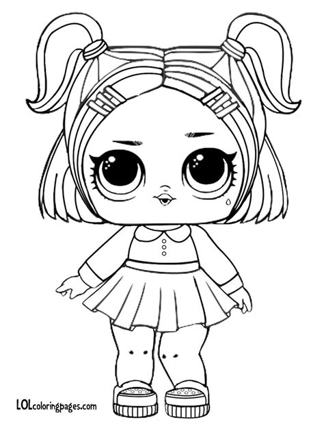 Lol Surprise Doll Coloring Pages at GetDrawings | Free