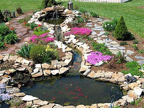 pond liner get inspired by beautiful garden pond
