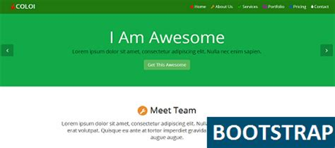 bootstrap templates for about us bootstrap coloi multipurpose template