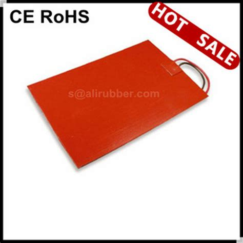 Silicone Rubber Karet Silikon Sheet 5mm 30 X 100 Cm silicone rubber heated pad used in pizza delivery bags 12v 60 90 dgree c buy silicone rubber