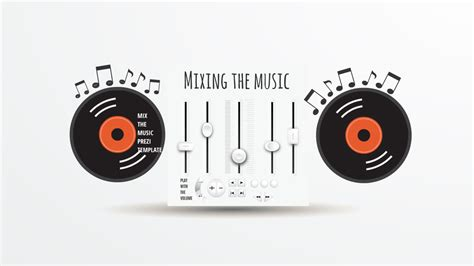 mixing music prezi template preziland