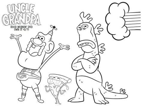 printable coloring pages uncle grandpa free coloring pages of gra