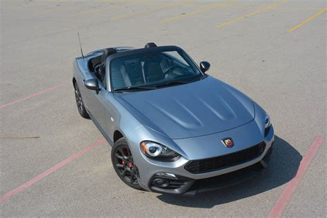 2017 fiat 124 spider abarth 2017 fiat 124 spider abarth review gtspirit