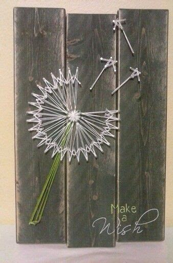 Dandelion String - make a wish dandelion string diy ed