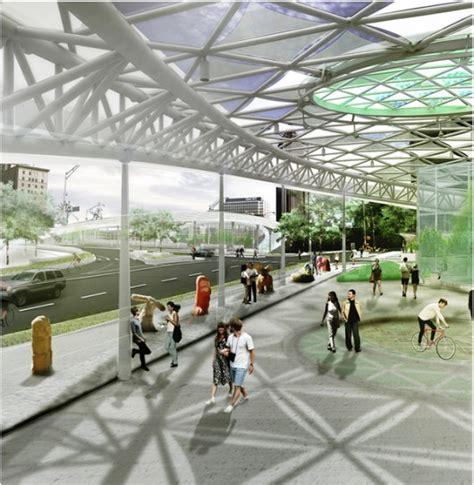 design contest opens to overhaul atlanta bridges atlanta bridgescape competition winners announced archdaily