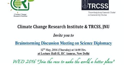 Invitation Letter For Brainstorming Meeting Research Centre For Studies In Science Policy