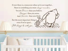 Classic Winnie The Pooh Wall Stickers Classic Winnie The Pooh If Ever There Is A By Grabersgraphics