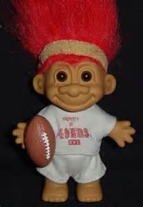 49ers football super bowl russ troll doll new collectible good luck