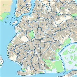 Brooklyn New York Map by Brooklyn Precinct Map Submited Images